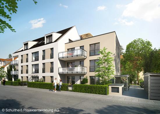 Neubau eines Mehrfamilienhauses mit 11 Wohneinheiten in Nürnberg