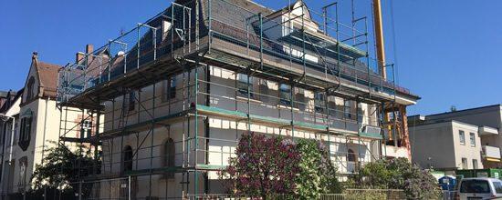 Umbau eines Einfamilienhauses in Nürnberg