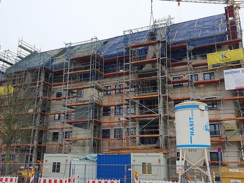 Wohnhaussanierung Landmannstraße