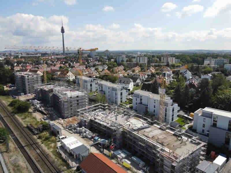 Errichtung einer Wohnanlage mit 116 WE in Nürnberg